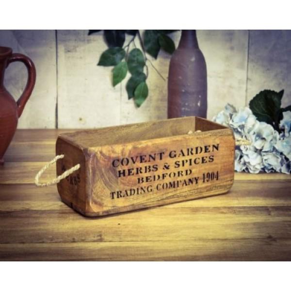 Covent Garden Market Wooden Box
