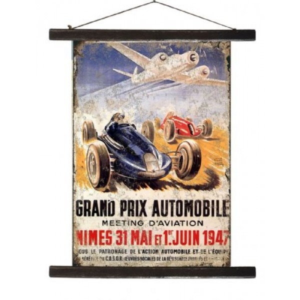Grand Prix Antique Banner