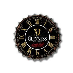 Guinness Bottle Top Clock