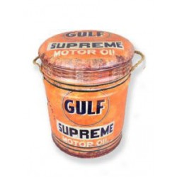 Gulf Metal Stool Small
