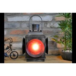 Industrial Red Lantern