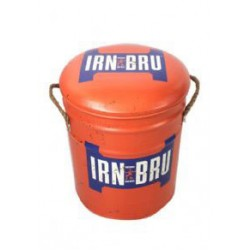 Irn Bru Metal Stool Small