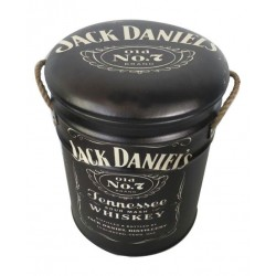 Jack Daniels Metal Stool Small