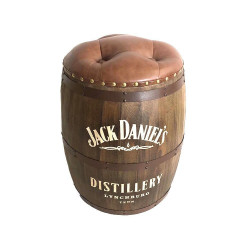 Jack Daniels Wood Barrel Stool