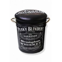 Peaky Blinders Metal Stool Small