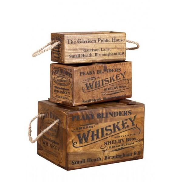 Peaky Blinders Whiskey Hardwood Medium Box