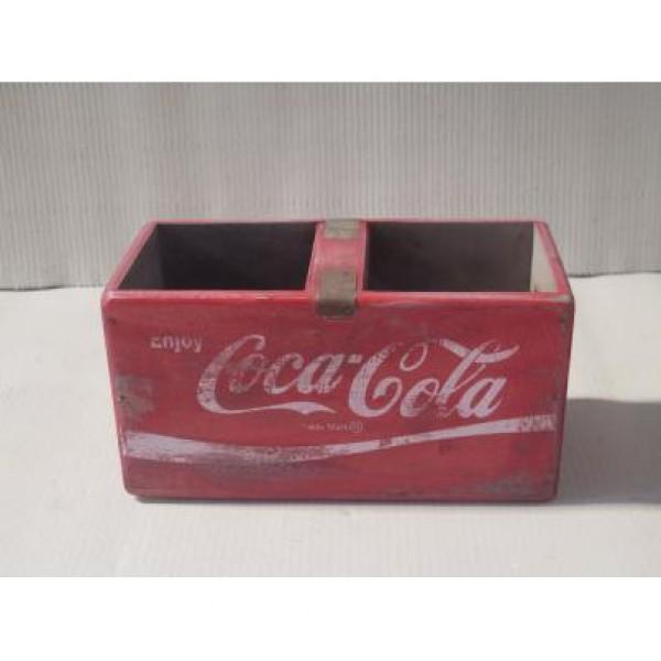 Coca-Cola Wooden Fish Box