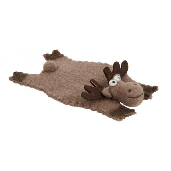 Rudolph Novelty Felt Coaster