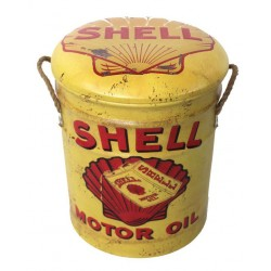 Shell Metal Stool Small