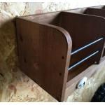 Retro Wood Wall Organiser